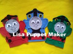 Thomas Puppets, Thomas, James and  Percy Puppets