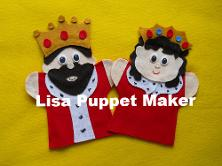 King and Queen Puppets