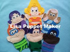 Bubble Guppies Puppets