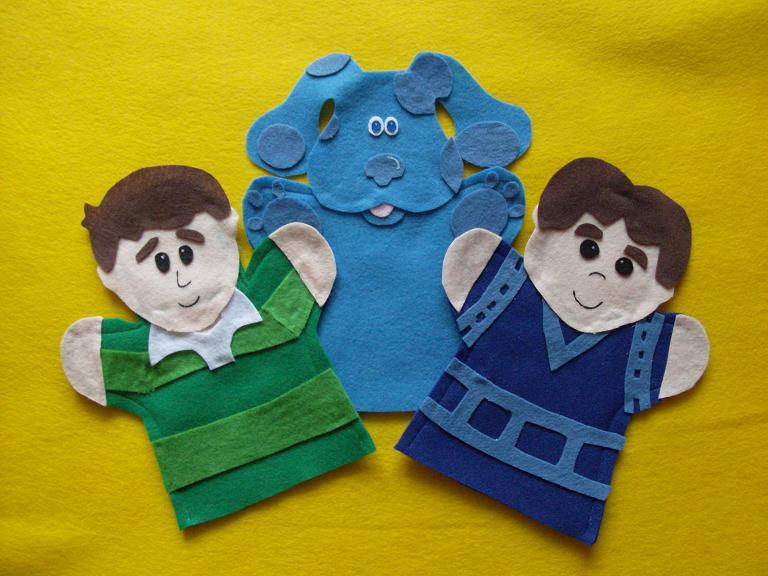 Blue's Clues Puppets